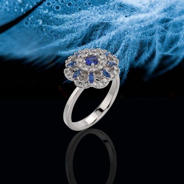 Женские кольца Н048