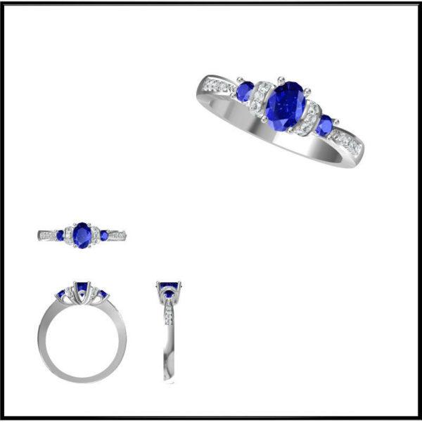 Женские кольца  Н192