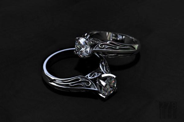 Женские кольца  Н171