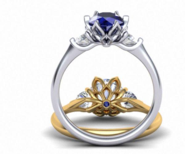Женские кольца  Н141