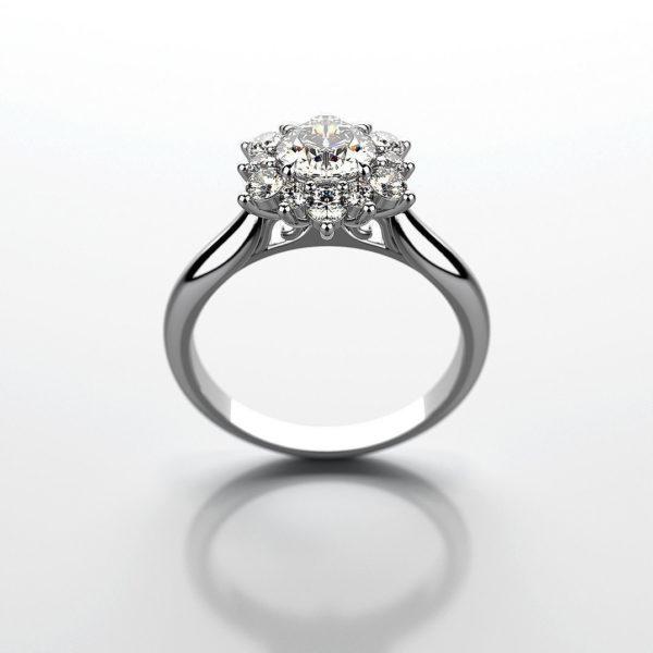 Женские кольца  Н187