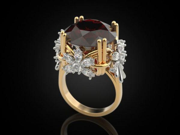 Женские кольца Н117
