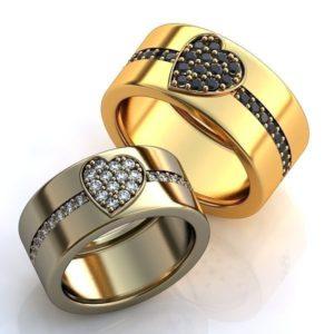 Женские кольца   Н055