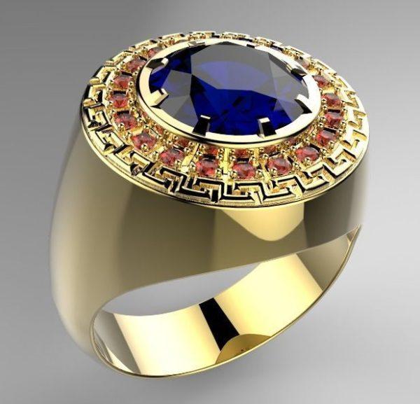 Мужские кольца  Н024