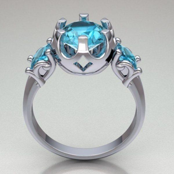 Женские кольца  Н172