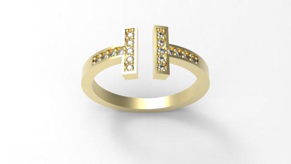 Женские кольца Н151