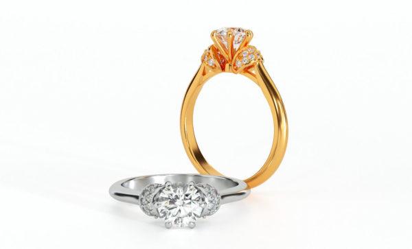 Женские кольца  Н144