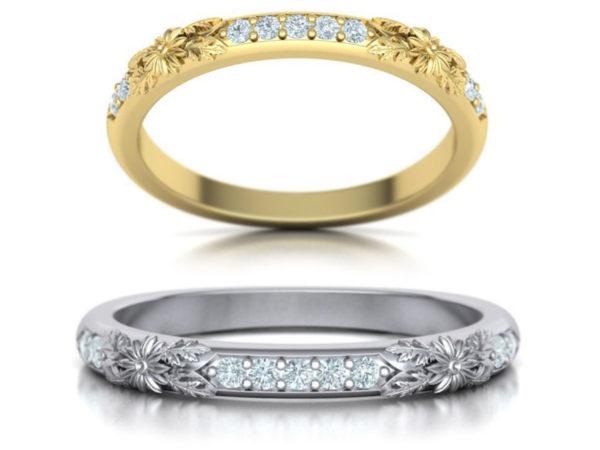Женские кольца Н160
