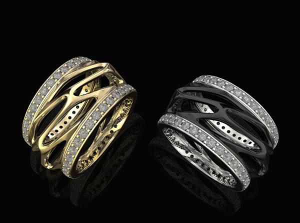 Женские кольца Н149