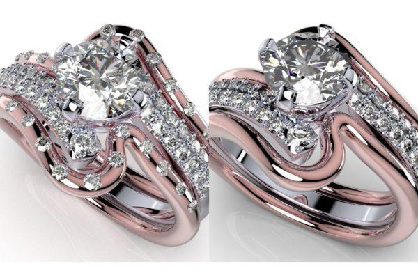 Женские кольца   Н063