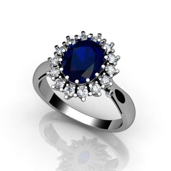Женские кольца Н154