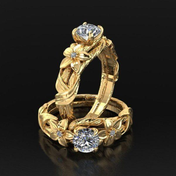 Женские кольца  Н181