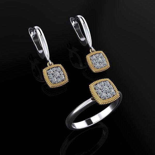 Женские кольца  Н120