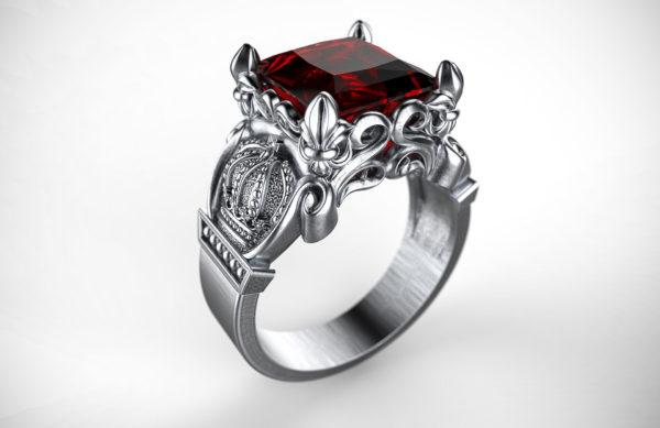 Женские кольца  Н185