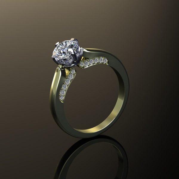 Женские кольца  Н028