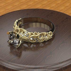 Женские кольца  Н029
