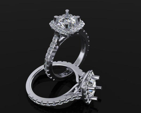 Женские кольца Н032