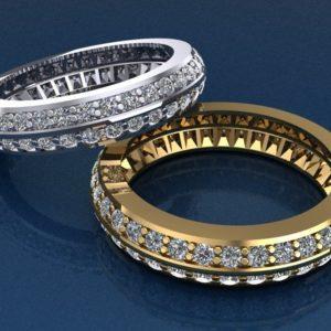 Женские кольца   Н013