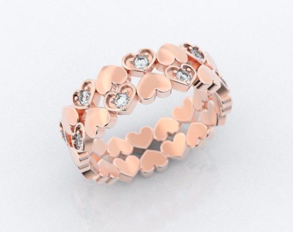 Женские кольца  Н176