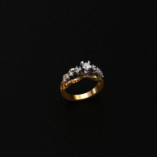 Женское кольцо Н068