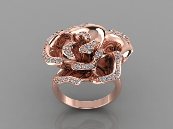 Женские кольца   Н011