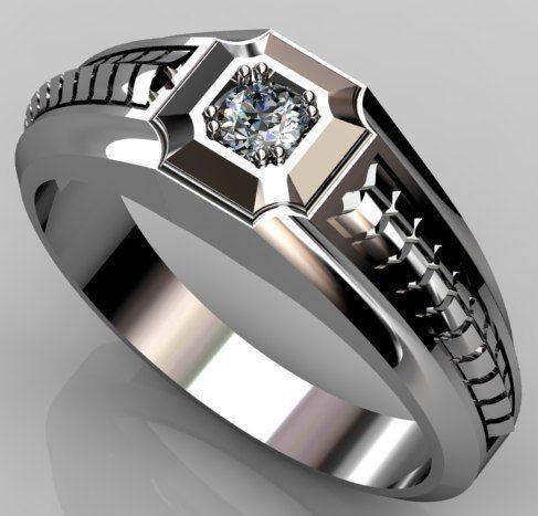 Мужские  кольца Н022