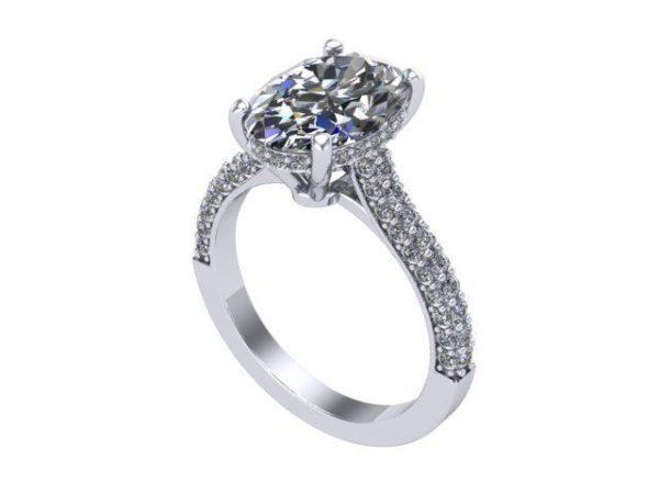 Женские кольца Н035