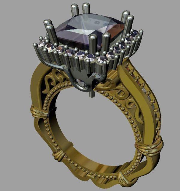 Женские кольца Н034
