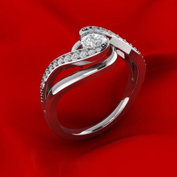 Женские кольца Н152