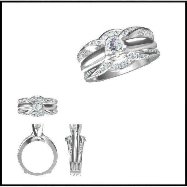 Женские кольца   Н065
