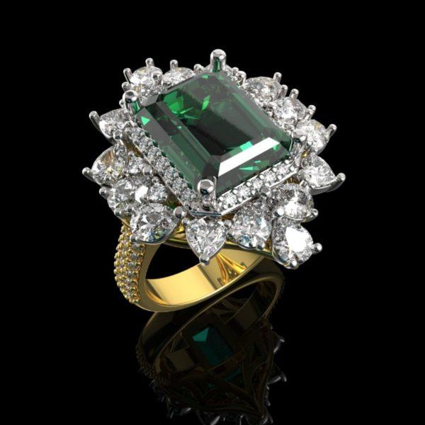 Женские кольца  Н162