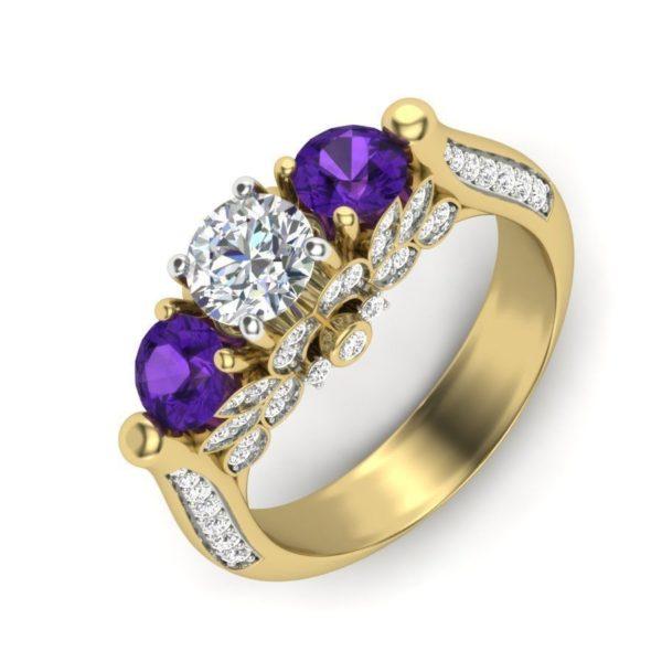 Женские кольца  Н066