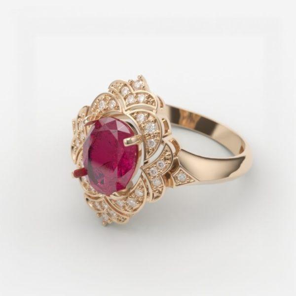 Женские кольца Н155