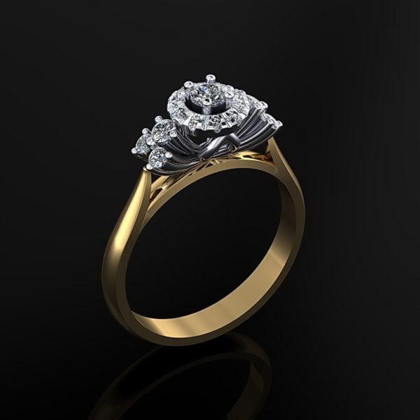 Женские кольца Н021