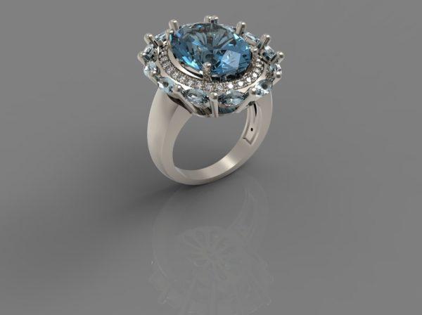 Женские кольца Н047