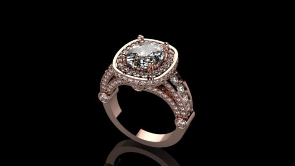 Женские кольца   Н010