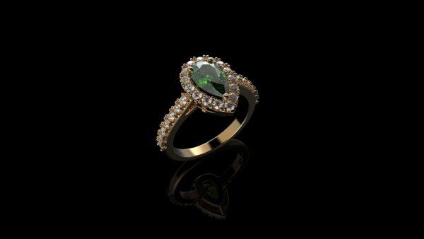 Женские кольца  Н217