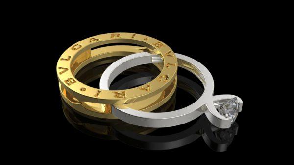 Женские кольца  Н207