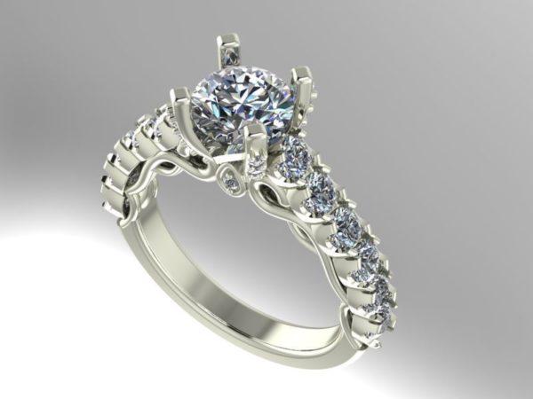 Женские кольца  Н215