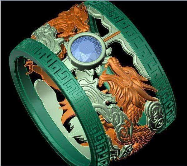 Женские кольца  Н202