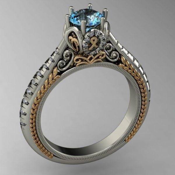 Женские кольца  Н198