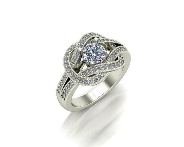 Женские кольца Н224