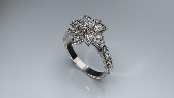 Женские кольца  Н203