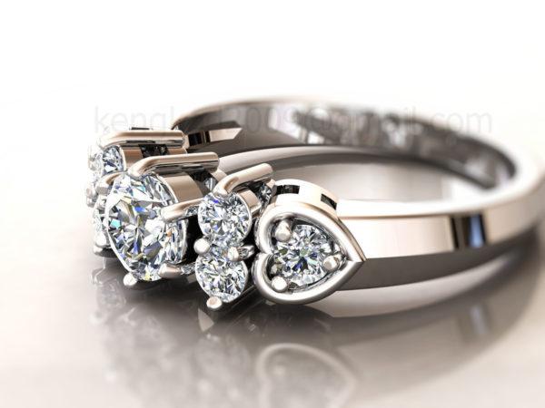 Женские кольца  Н220