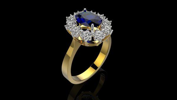 Женские кольца  Н240
