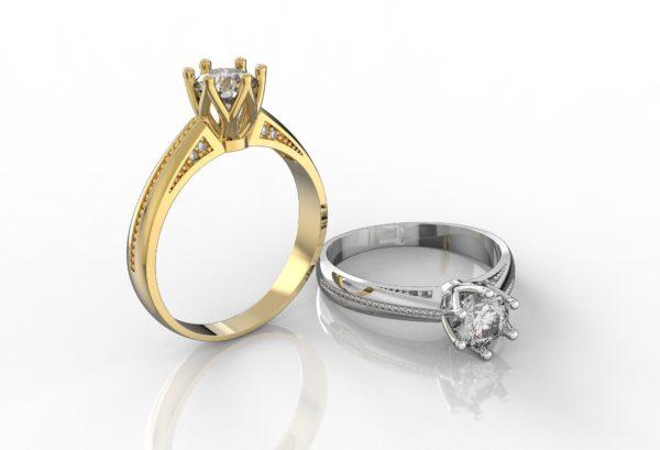 Женские кольца  Н238