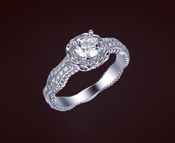 Женские кольца  Н226