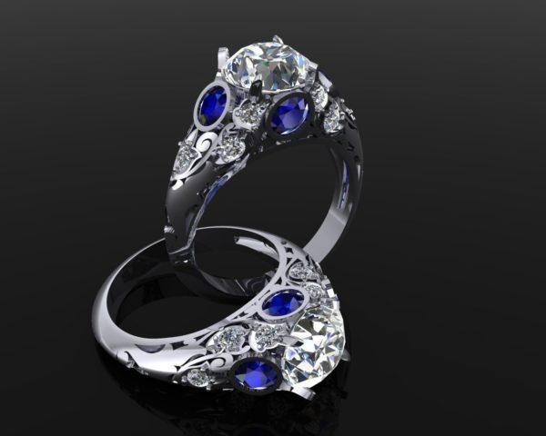 Женские кольца  Н231