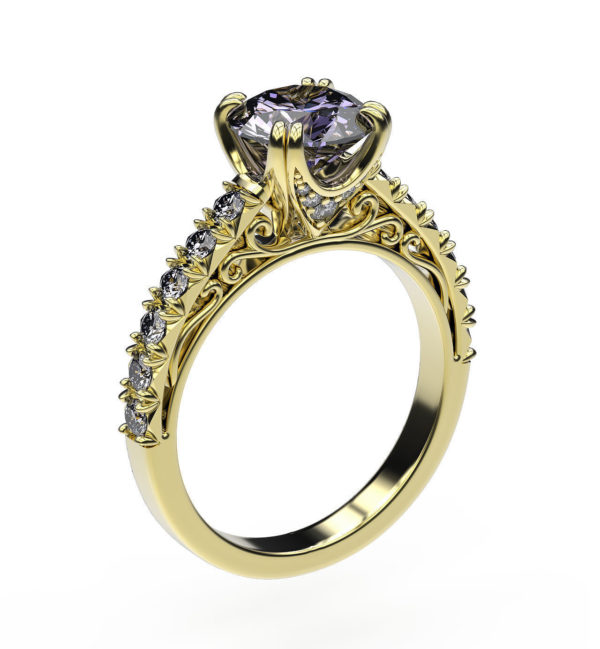 Женские кольца  Н201