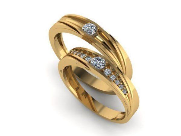 Обручальные кольца  Н227